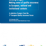2005-2010: 5 years of student participation in quality assurance in spain